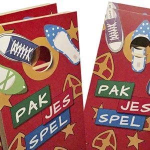 Sinterklaas familie spel - Cornhole pakjes spel