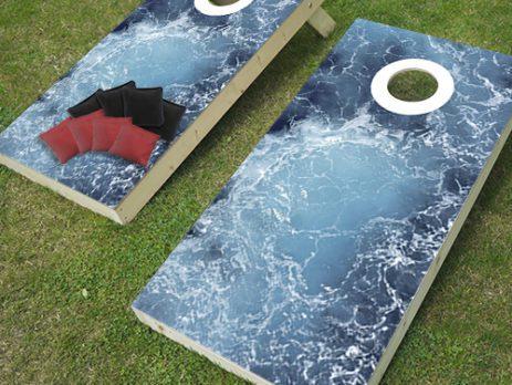 ocean cornhole game
