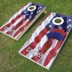 Cornhole-Board-American-flag-mockup-set