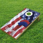 Cornhole-Board-American-flag-mockup-single